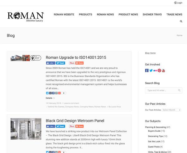 Roman Blog