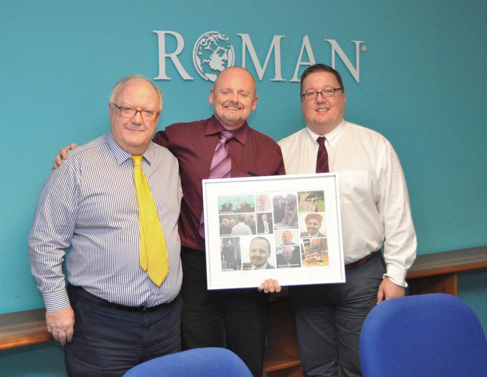 Roman Sales Director Long Service Award Roman Showers